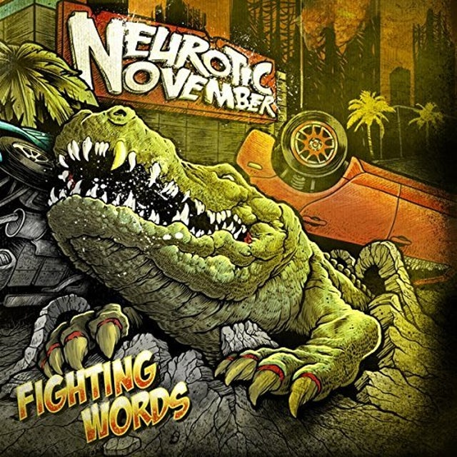 Neurotic November FIGHTING WORDS CD