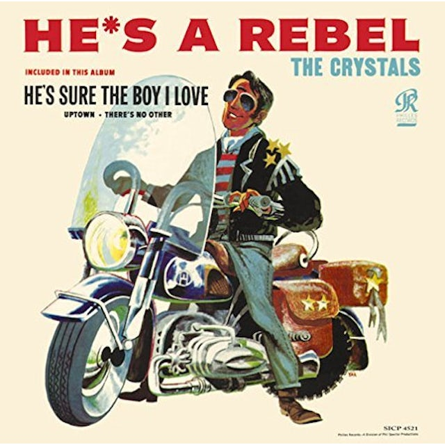 The Crystals HE'S A REBEL CD