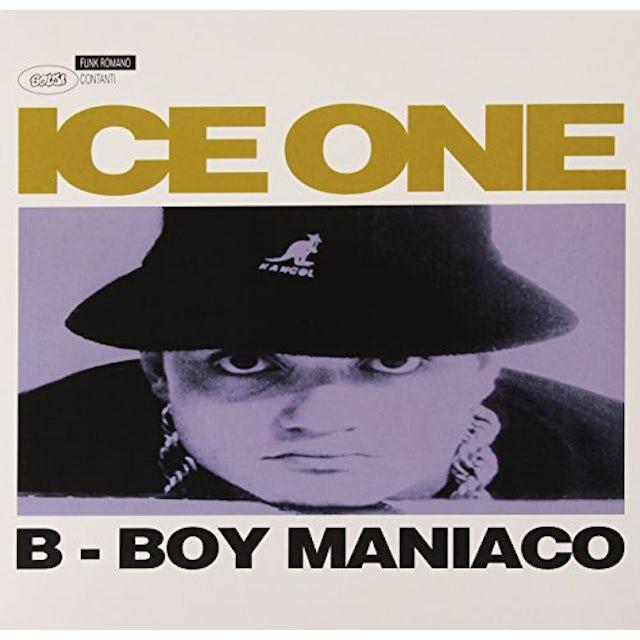 ICE ONE B-BOY MANIACO Vinyl Record