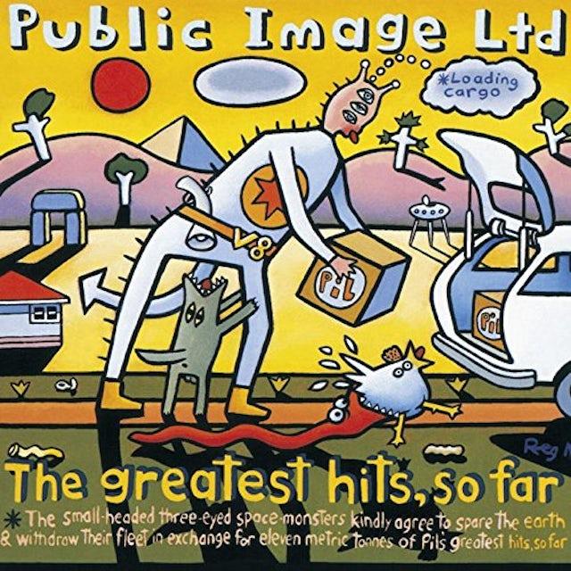 P.I.L. G.H. SO FAR CD
