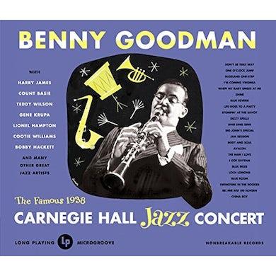 Benny Goodman LIVE AT CARNEGIE HALL 1938 COMPLETE CD