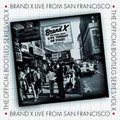 Brand X LIVE FROM SAN FRANCISCO CD