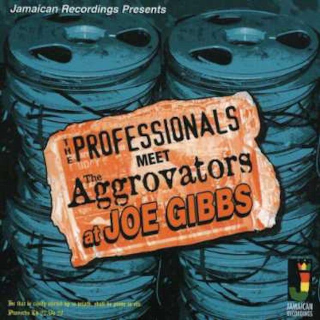 Professionals MEET THE AGGROVATORS AT JOE GIBBS CD