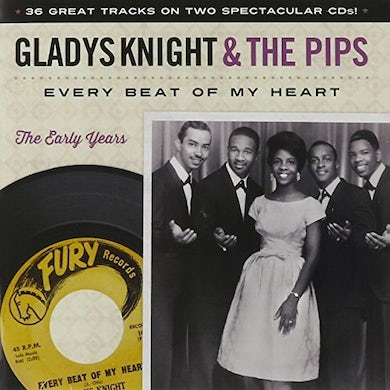 Gladys Knight & The Pips EVERY BEAT OF MY HEART: THE EARLY YEARS CD