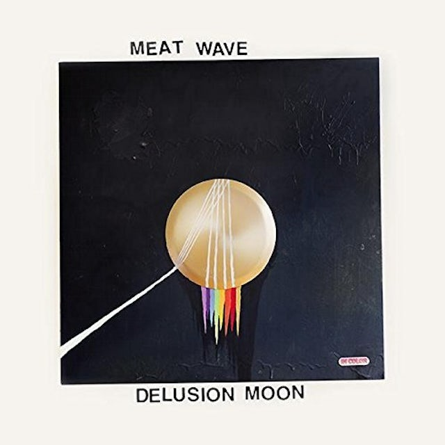 Meat Wave DELUSION MOON Vinyl Record