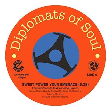 DIPLOMATS OF SOUL SWEET POWER YOUR EMBRACE/MI SABRINA TEQUANA Vinyl Record