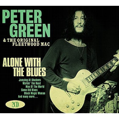 Peter Green ALONE WITH THE BLUES CD