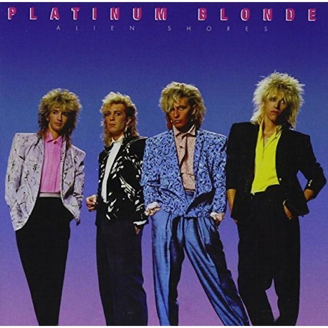 Platinum Blonde ALIEN SHORES CD