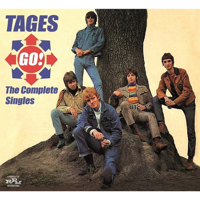 Tages GO! COMPLETE SINGLES CD