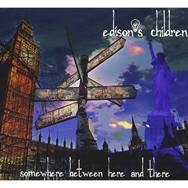 Edison'S Children SOMEWHERE BETWEEN HERE & THERE CD