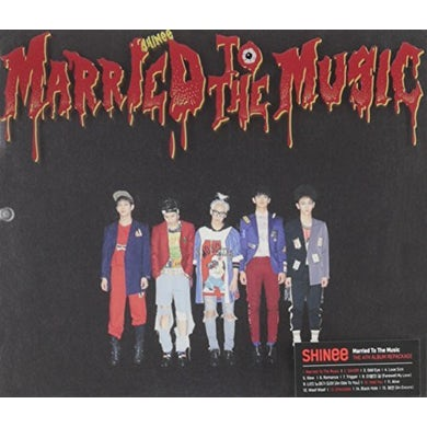 SHINee MARRIED TO THE MUSIC (VOL.4) CD