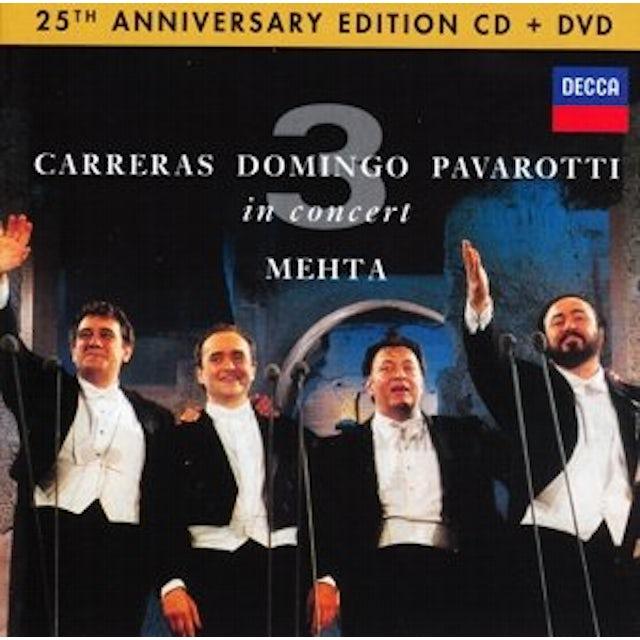 PAVAROTTI / DOMINGO / CARRERAS / MEHTA THREE TENORS 25TH ANNIVERSARY CD