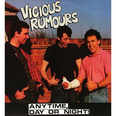 VICIOUS RUMOURS ANYTIME DAY OR NIGHT Vinyl Record