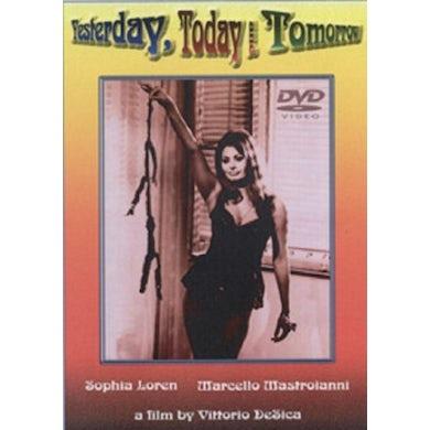 YESTERDAY TODAY & TOMORROW DVD