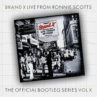Brand X RONNIE SCOTTS LIVE 1976 CD
