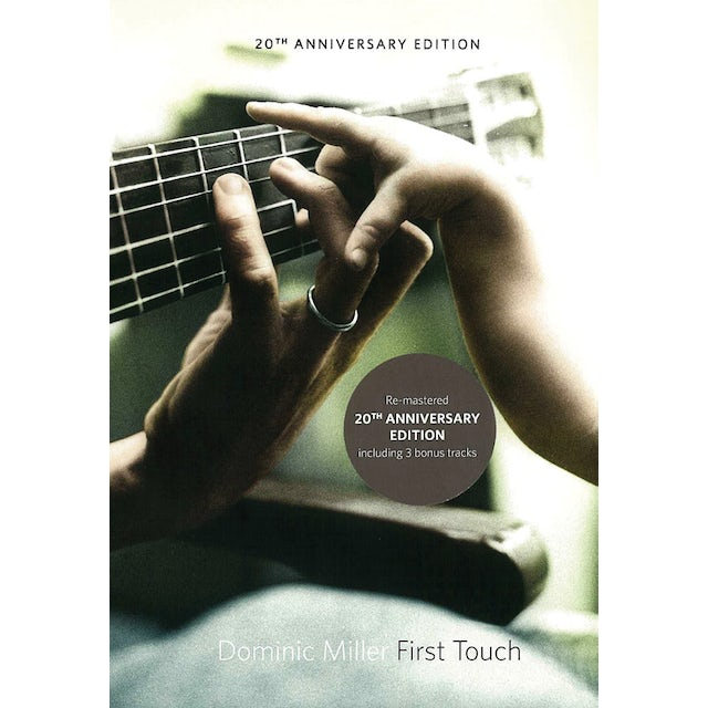 Dominic Miller FIRST TOUCH 20TH ANNIVERSARY EDITION CD