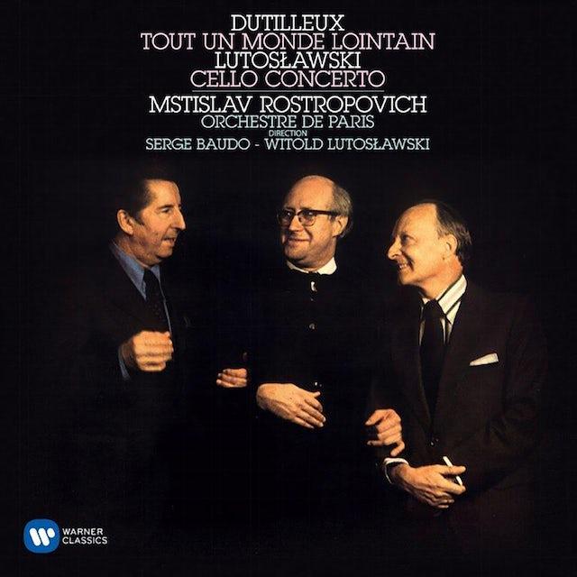 Mstislav Rostropovich DUTILLEUX & LUTOSLAWSKI: CELLO CONCERTOS CD