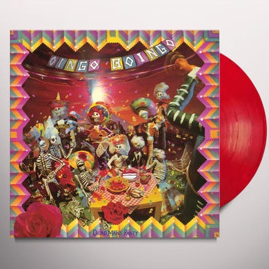 Oingo Boingo DEAD MANS PARTY - Limited Edition Red Translucent Colored Vinyl Record