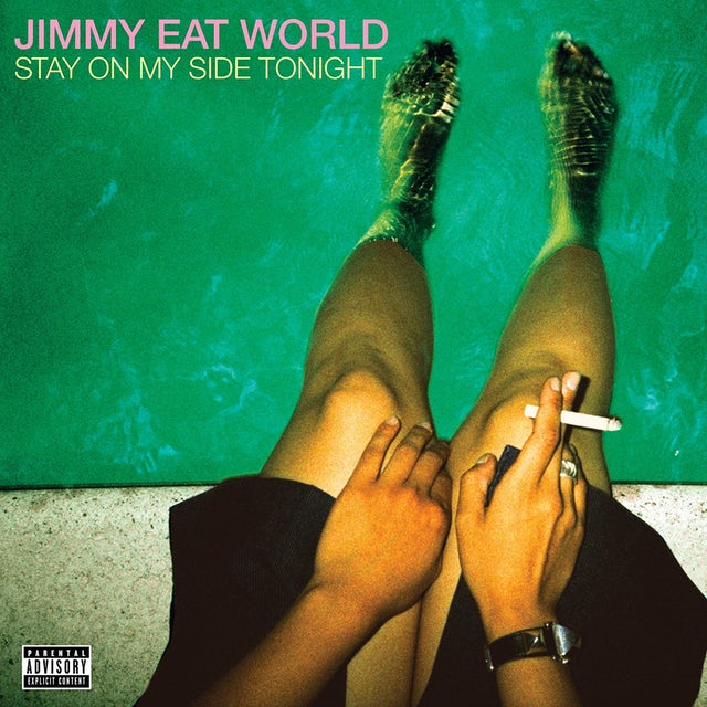 Jimmy Eat World STAY ON MY SIDE TONIGHT Vinyl Record