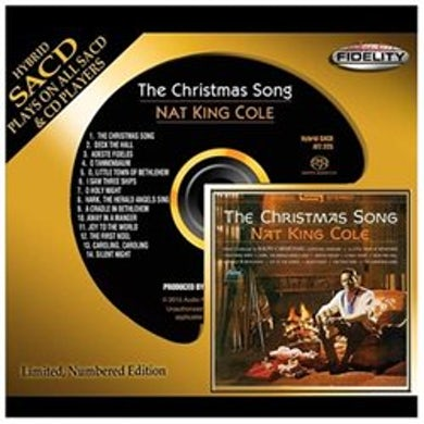 Nat King Cole CHRISTMAS SONG Super Audio CD