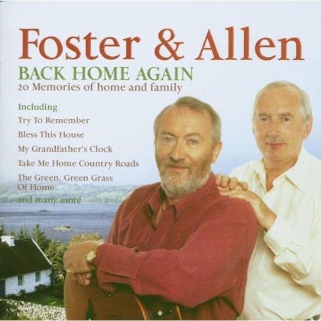 Foster & Allen BACK HOME AGAIN CD