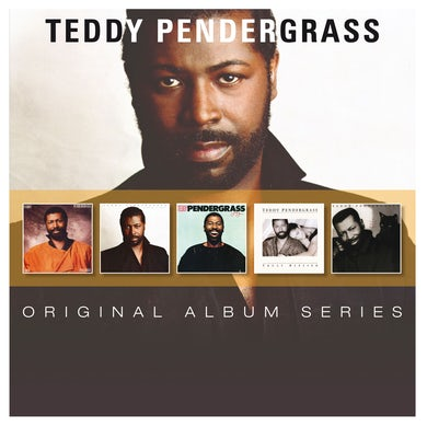 Teddy Pendergrass ORIGINAL ALBUM SERIES CD
