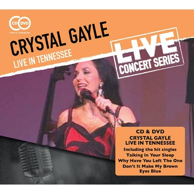 Crystal Gayle LIVE IN TENNESSEE CD