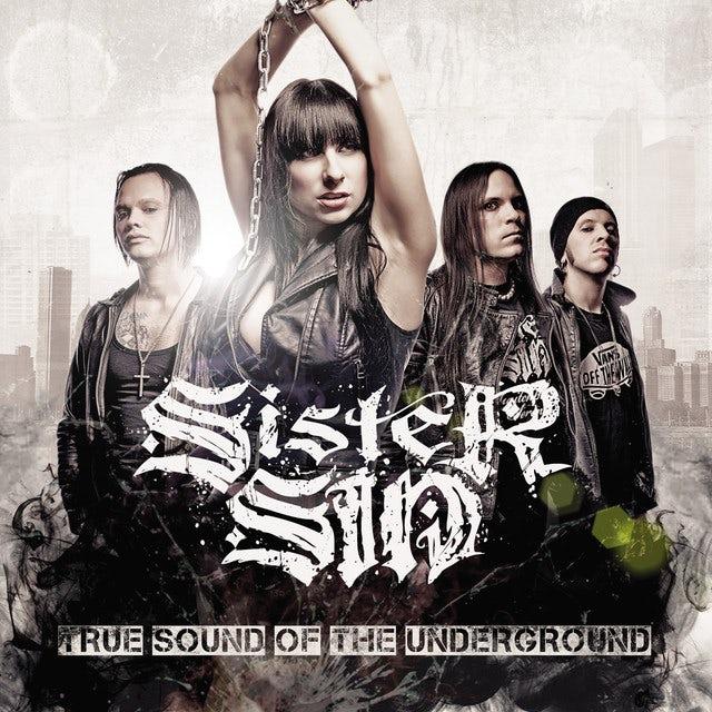 Sister Sin TRUE SOUND OF THE UNDERGROUND Vinyl Record