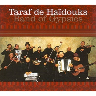 Taraf de Haidouks BAND OF GYPSIES Vinyl Record