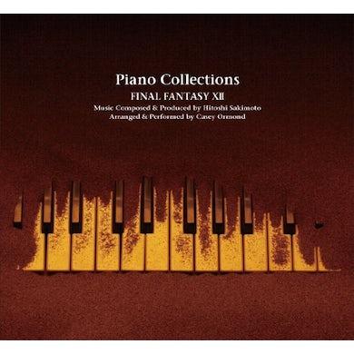Hitoshi Sakimoto, Masaharu Iwata, and Nobuo Uematsu PIANO COLLECTIONS FINAL FANTASY 12 / Original Soundtrack CD