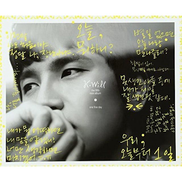 K.Will ONE FINE DAY CD