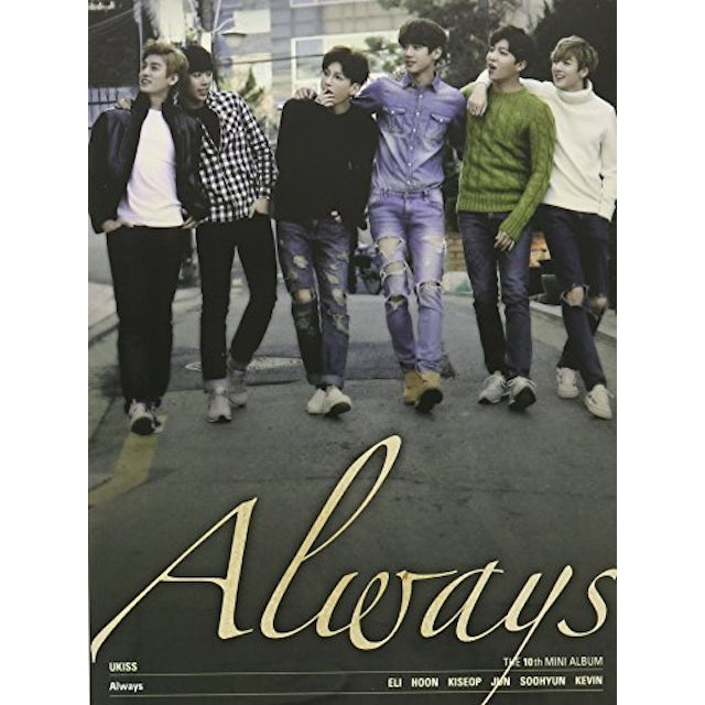 U-KISS ALWAYS (10TH MINI ALBUM) CD