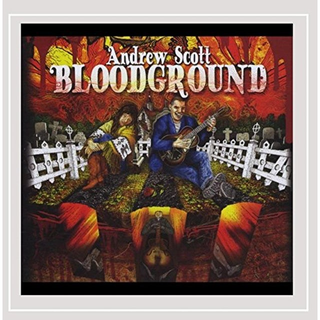 Andrew Scott BLOODGROUND CD