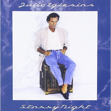 Julio Iglesias STARRY NIGHT Vinyl Record