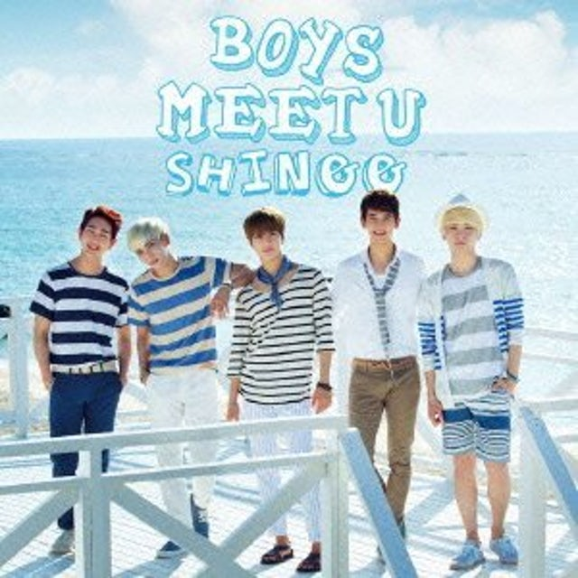 SHINee BOYS MEET U CD