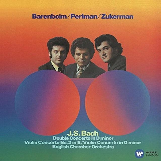 Itzhak Perlman J.S. BACH: VIOLIN CONCERTOS DOUBLE CD