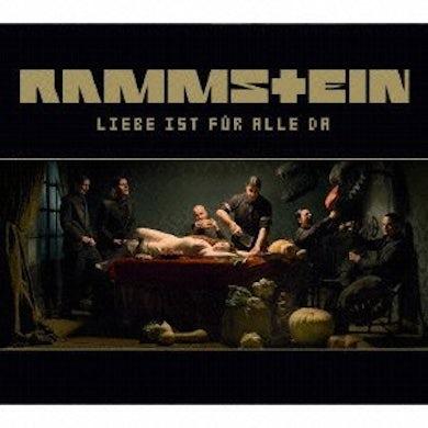 Rammstein LIEBE 1ST FUR ALLE DA CD