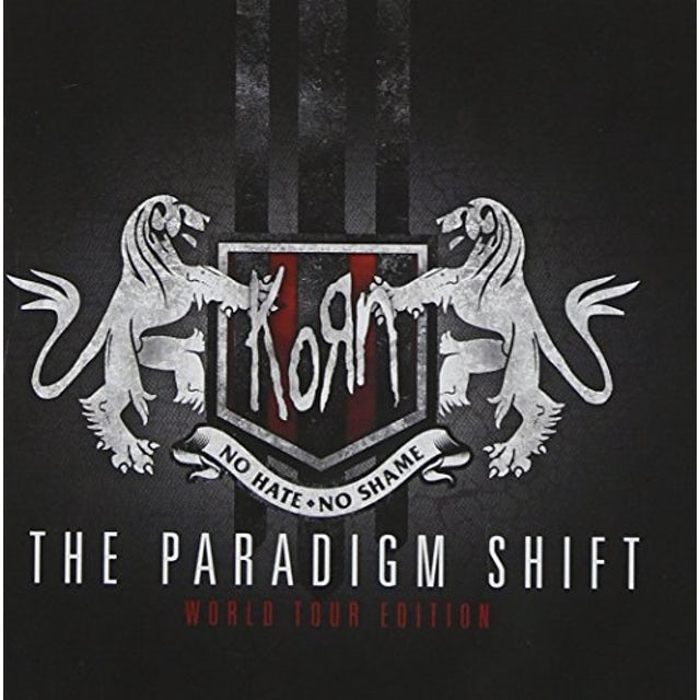 KoRn PARADIGM SHIFT: WORLD TOUR ED. CD