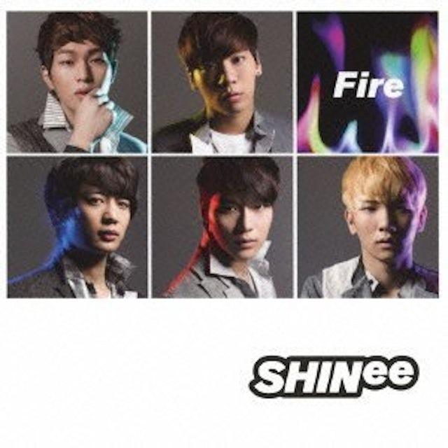 SHINee FIRE CD