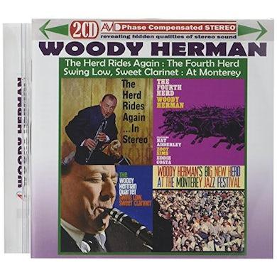 Woody Herman HERD RIDES AGAIN IN STEREO / FOURTH HERD / SWING CD