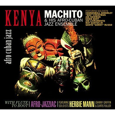 Machito KENYA / FLUTE TO BOOT CD