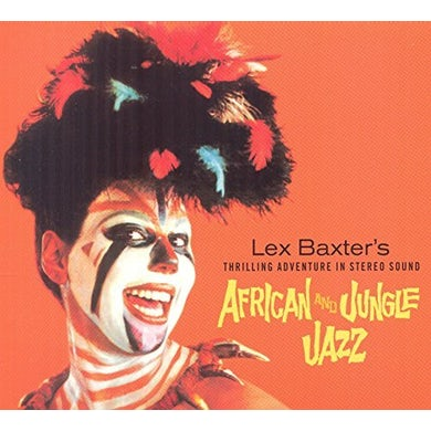 Les Baxter AFRICAN JAZZ / JUNGLE JAZZ CD