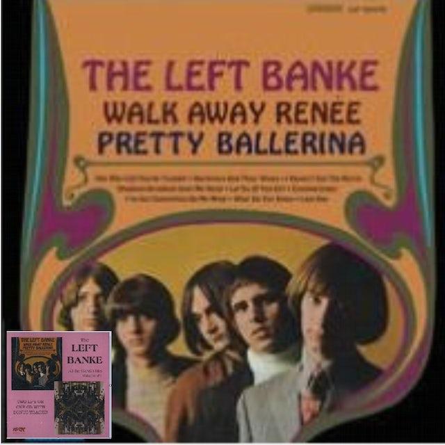 Left Banke WALK AWAY RENEE / PRETTY BALLERINA (26 CUTS) CD