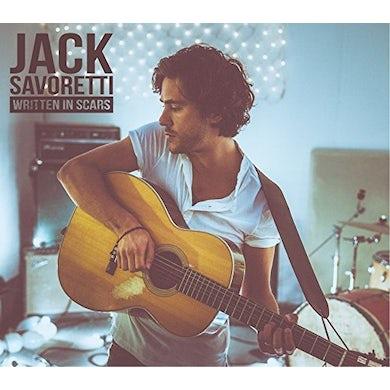 Jack Savoretti WRITTEN IN SCARS CD