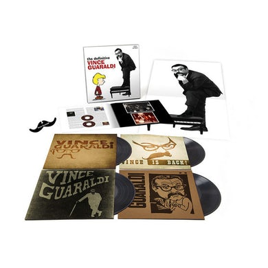 DEFINITIVE VINCE GUARALDI Vinyl Record Box Set