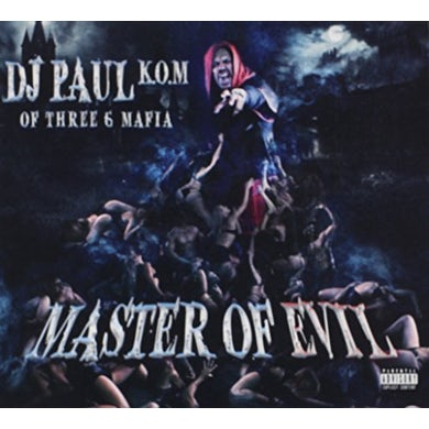 DJ Paul MASTER OF EVIL CD