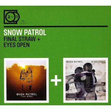 Snow Patrol FINAL STRAW / EYES WIDE OPEN CD