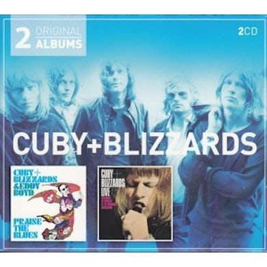 Cuby & Blizzards PRAISE THE BLUES / LIVE 68 RECORDED CD
