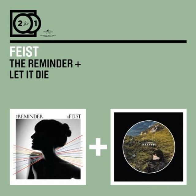 Feist REMINDER/LET IT DIE CD