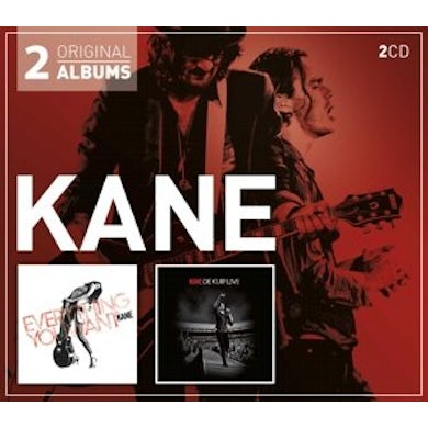 Kane EVERYTHING YOU WANT / DE KUIP LIVE CD